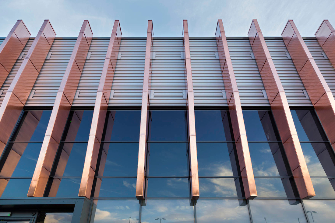 Architectural photography of Lawton Tube building, Coventry