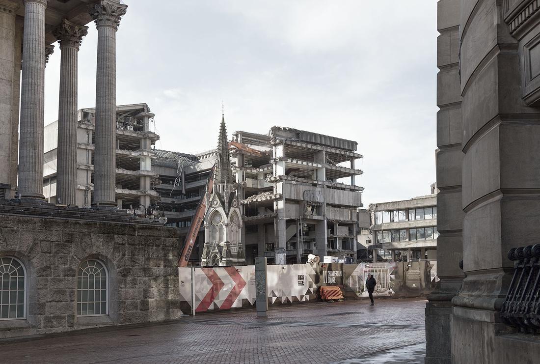 Birmingham Central Library demolition