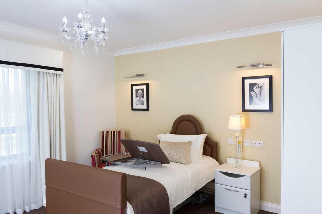 architectural photography of interiors - domestic, hotel, care home
