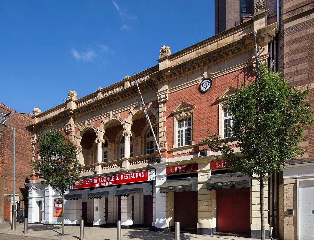 Birmingham cinema former Futurist