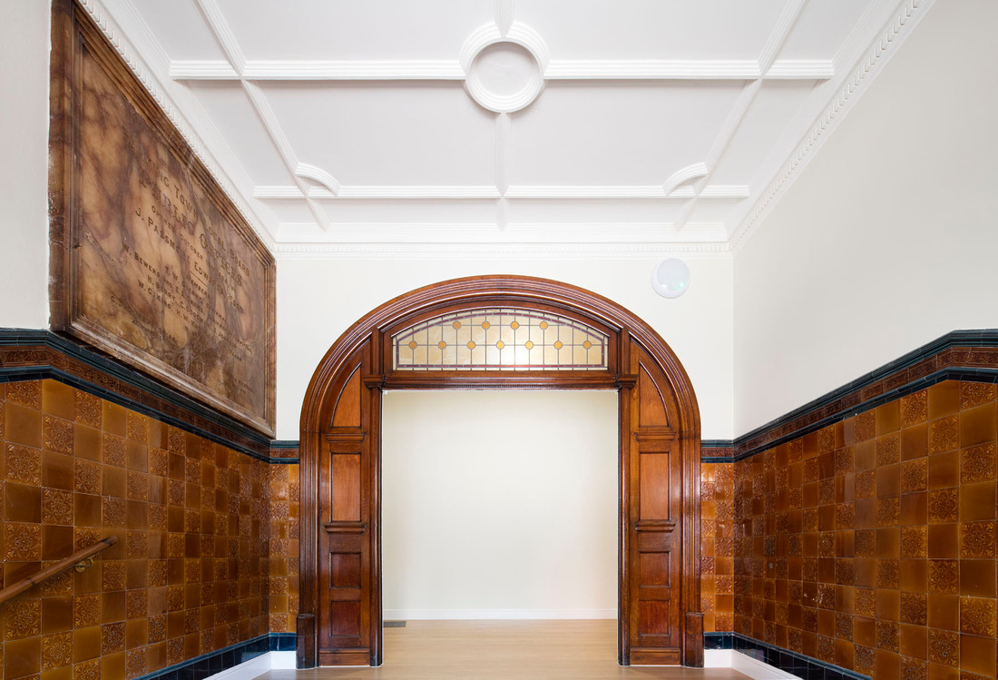 Architectural photography in London. Use of shift lens.