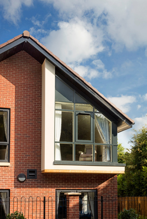 Architectural photography of Barchester Spires care home, Lichfield, Staffordshire