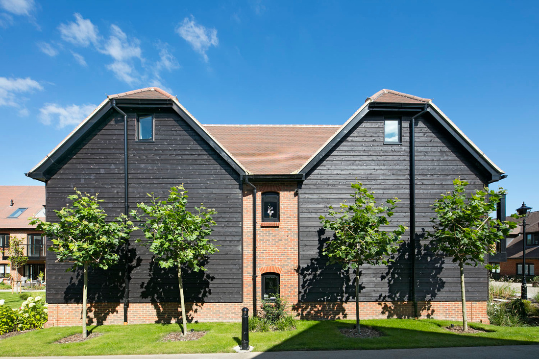 architectural photography of building product. Silva Timber cladding