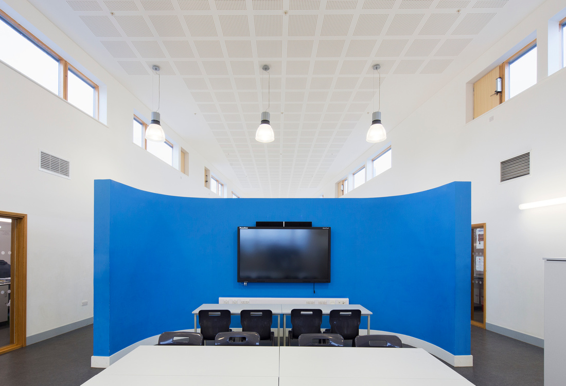 Habberley campus, Worcestershire. Wyre Forest School and Baxter College. Architectural and interior photography by Richard Ellis