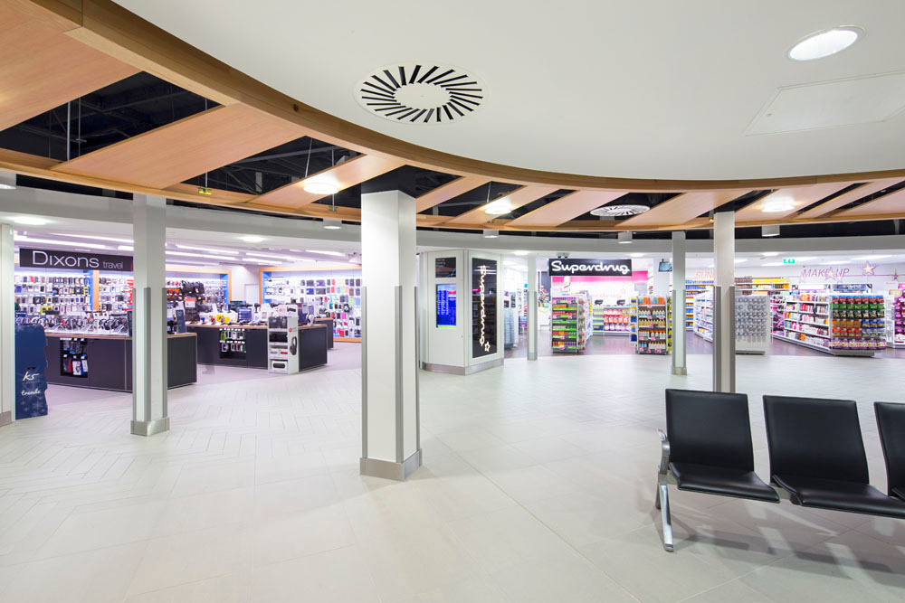 Architectural photography of East Midlands Airport for Bam Construction