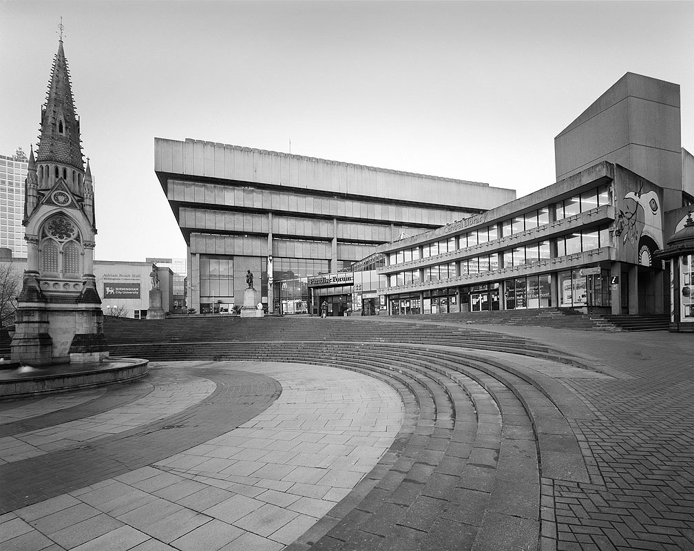 Old Birmingham Central Library, by John Madin