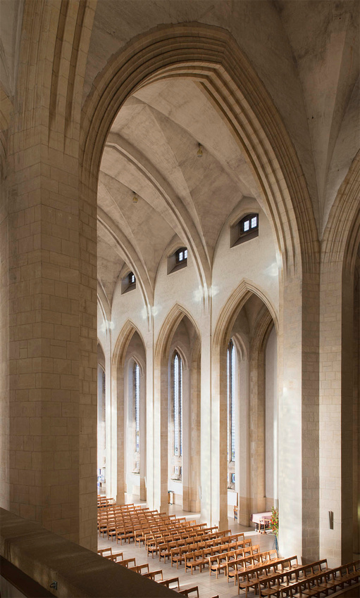guilldford cathedral architectural interior photography