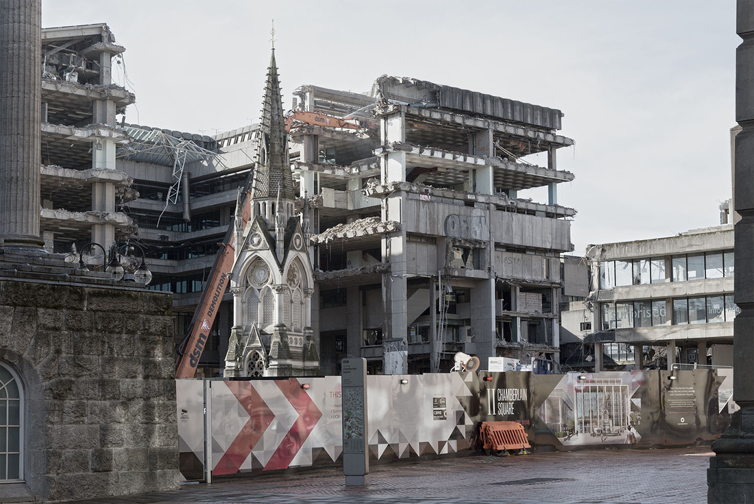 Birmingham Central Library demolition