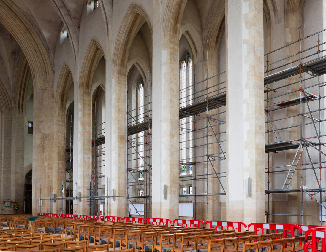 guildford cathedral artist in residence architectural photography surrey