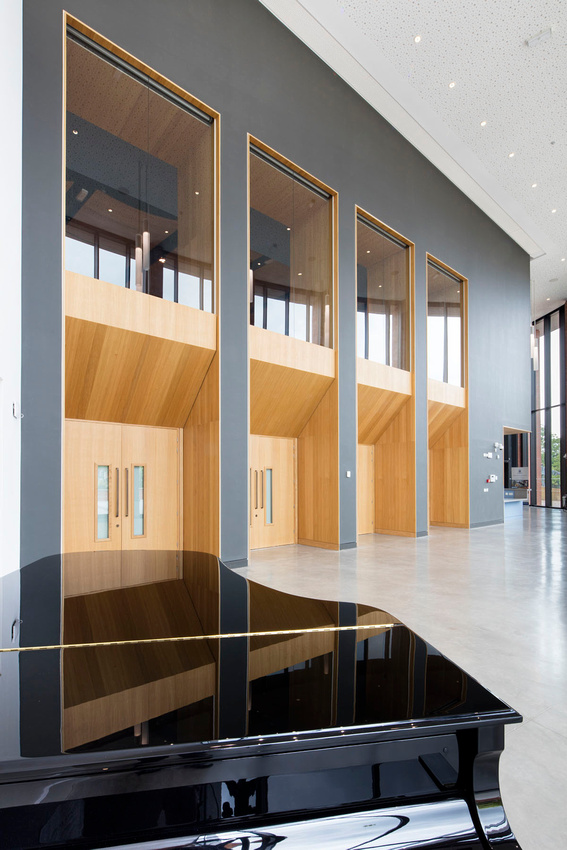 building and architectural product photography for Knauf, Warwick School