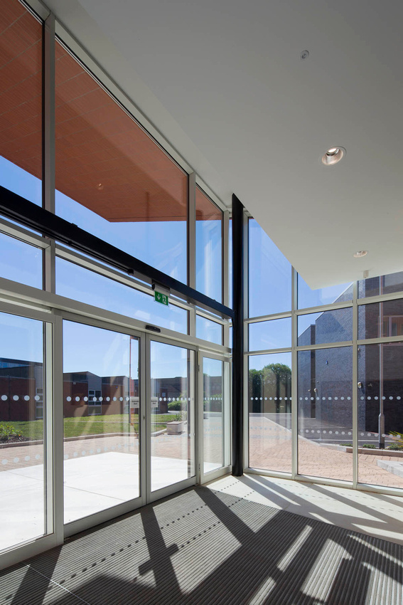 Joseph Leckie Academy, Walsall.  Architectural photography for Seymour Harris Architects, Birmingham