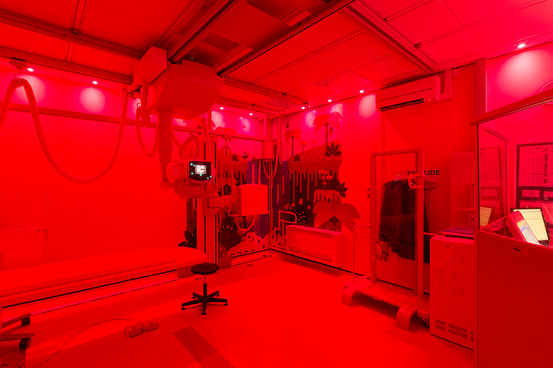 Birmingham Children's Hospital coloured light sequence
