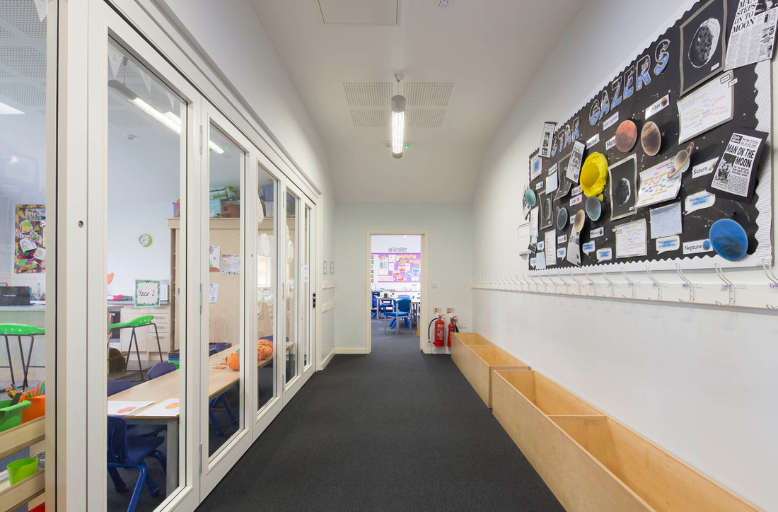 Architectural photography of Hockley Heath Academy, for Pinnegar Hayward Design
