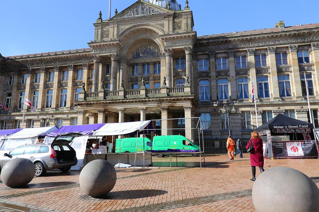 Birmingham street market crap disgraceful mess cheap nasty