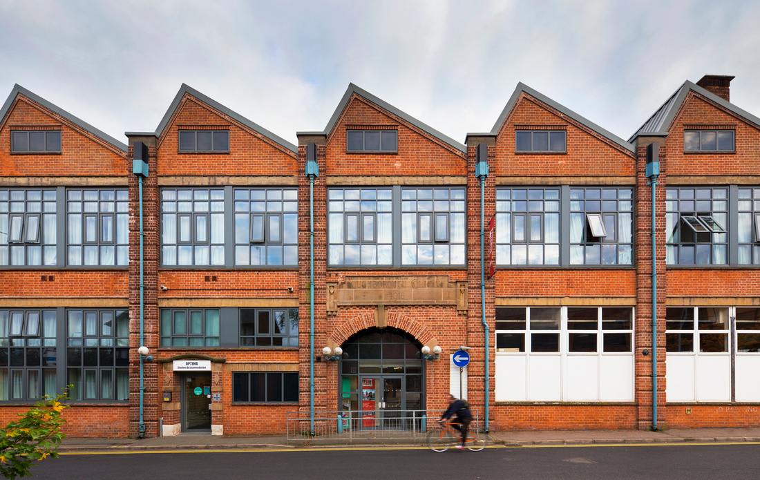 architectural photography knight frank optima  loughborough