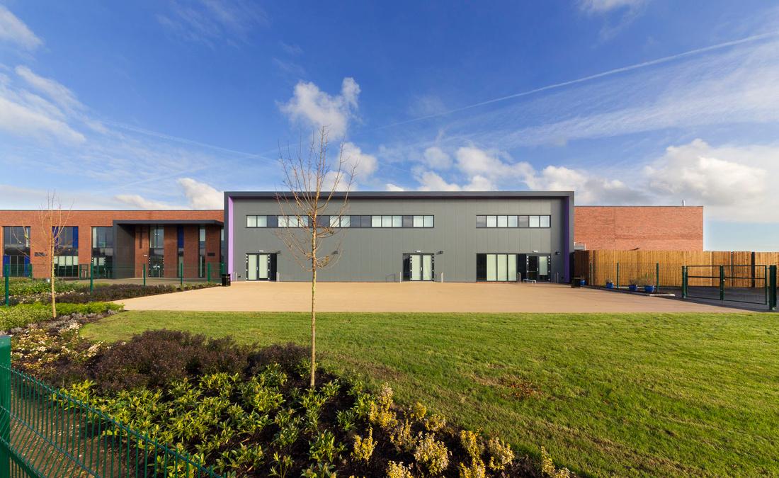 Ryecroft School, Rocester. Client Seddon Construction.