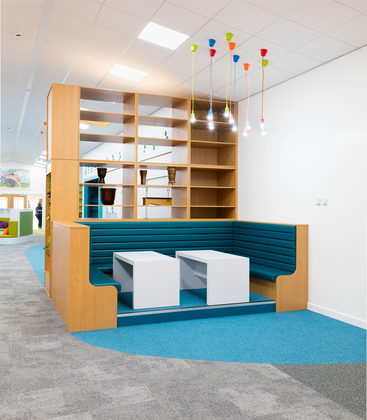interior architectural photography of a school in stoke, staffordshire, midlands